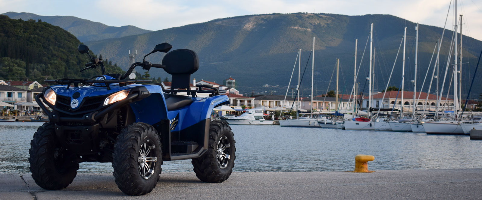 Quad & ATV Rental Kefalonia | Rent a Scooter or Quad Sami Kefalonia | Kefalonia Car & Moto Rentals Sami Kefalonia